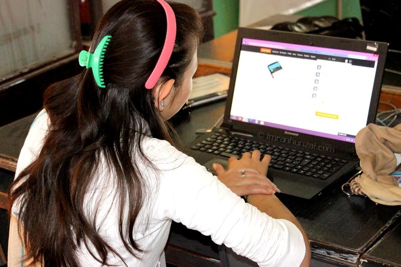 A freelancer at KADO iTech Center Karimabad Hunza